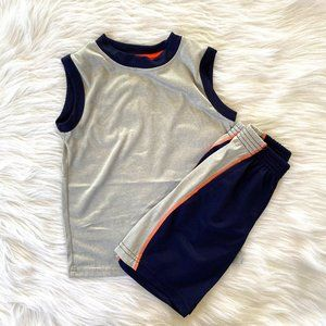 Body Gloves Little Boys Athletic Tank & Shorts Set